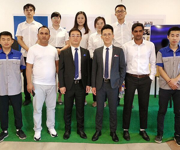 SENFENG LEIMING LASER India Branch Grand Opening